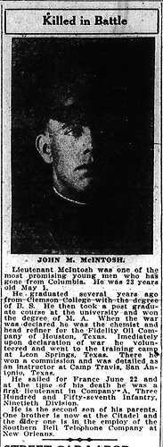 John McKenzie McIntosh