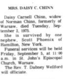 Daisy <i>Carnell</i> Chinn