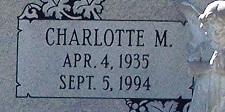 Charlotte Mae <i>Kempfer</i> Pecht