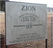 Zion Presbyterian Church Cemetery