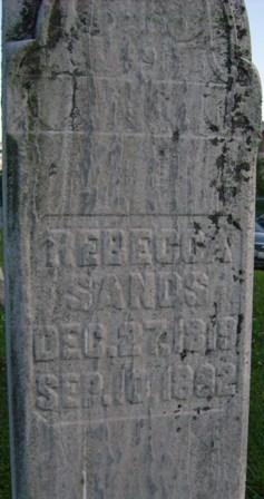 Rebecca <i>Gardner</i> Sands