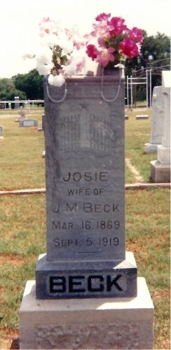 Josephine Josie <i>Brice</i> Beck