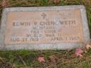 Edwin Verna Chenoweth