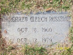 Margaret Minerva <i>Welch</i> Russell