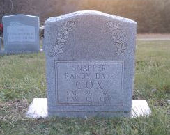 Randy Dale Snapper Cox