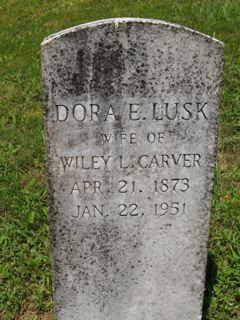 Dora Elizabeth <i>Lusk</i> Carver