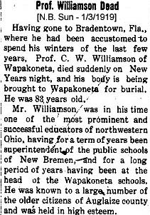 Charles W Williamson