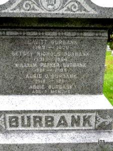 Abbie D <i>Staples</i> Burbank