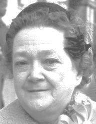 Mrs Josephine Josie <i>O'Byrne</i> Mackiney