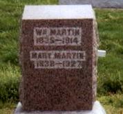 Mary A. <i>Spann</i> Martin