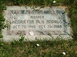 Henrietta Matilda <i>Veatch</i> Andrus