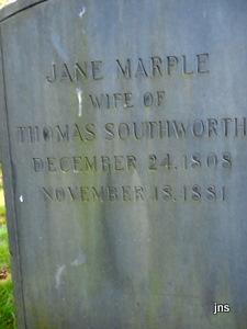 Sarah Jane <i>Marple</i> Southworth