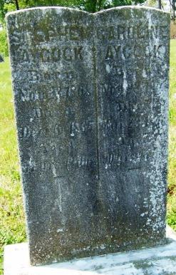 Jane Caroline <i>Newell</i> Aycock