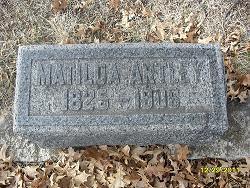 Mary Matilda Artley