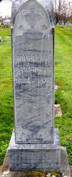 Mahalia <i>Cheever</i> Bowerman