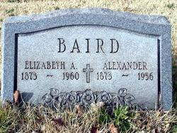 Elizabeth Ann <i>Morrison</i> Baird