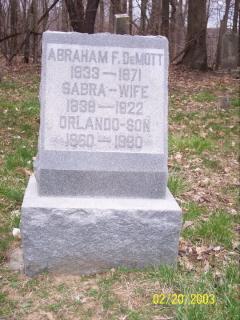 Abraham F Demott