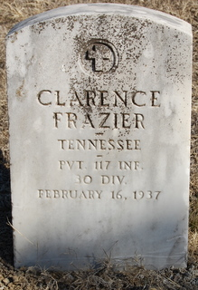 Pvt Clarence Frazier