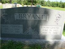 Louise <i>Gentry</i> Bryant