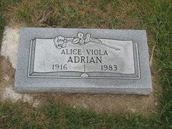 Alice Viola <i>Candler Saxton</i> Adrian