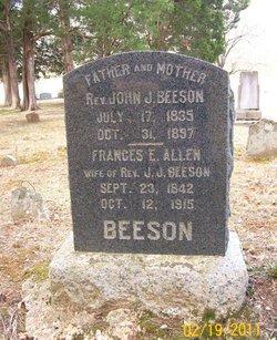 Frances E. <i>Allen</i> Beeson