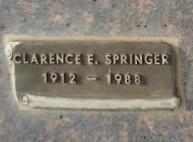 Clarence E Springer