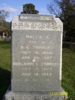 Malissa A Mallie <i>Aven</i> Torbert