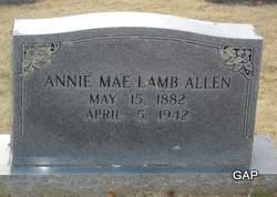 Annie Mae <i>Lamb</i> Allen
