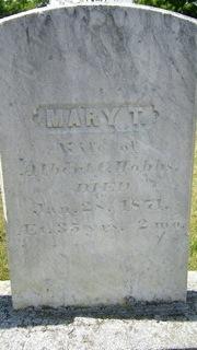 Mary T. <i>Wilkins</i> Hobbs