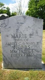 Marie E. Hobbs