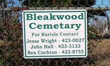 Bleakwood Cemetery