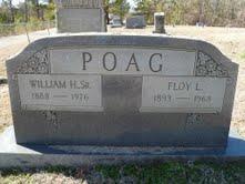 William Hamilton Ham Poag, Sr