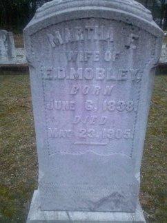 Martha F <i>Bradberry</i> Mobley