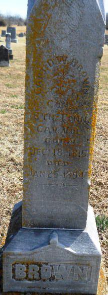 Capt D. W. Brown