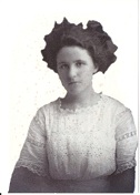 Cora Augusta Gussie <i>Williams</i> Williams