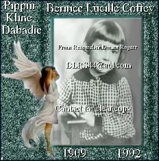 Bernice Lucille <i>Coffey</i> Dabadie