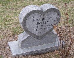 Rose Burns Binkley