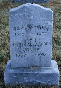 Betty <i>Bailey</i> Alexander Jones