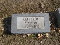 Arthur O Binford