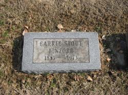 Carrie <i>Stout</i> Binford