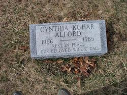 Cynthia <i>Kuhar</i> Alford