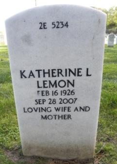 Katherine L Lemon