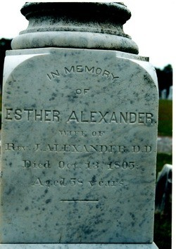 Martha Esther <i>Davies</i> Alexander