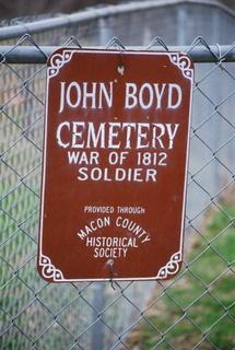 John Boyd Cemetery