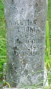 Martha <i>Thomas</i> Jacobs