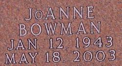 JoAnne <i>Bowman</i> Berglind