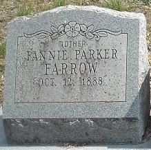 Fannie Lela <i>Parker</i> Farrow