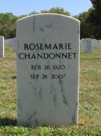 Rose Marie <i>Robillard</i> Chandonnet