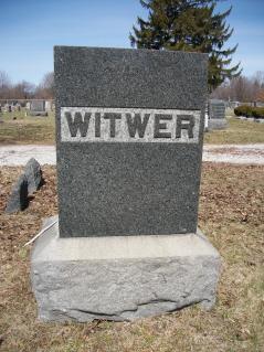 Christena <i>Hennich</i> Witwer