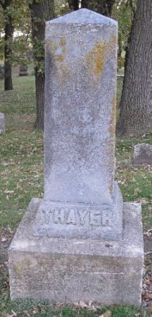 William Dick Thayer